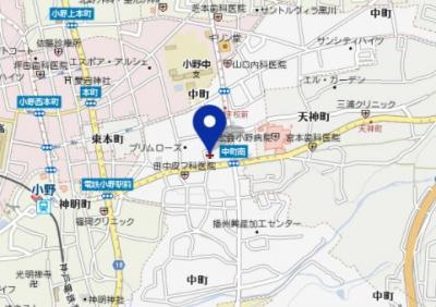 【地図】ルーチェ オノ