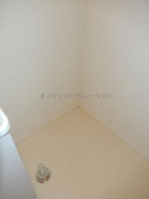 洗濯機置き場