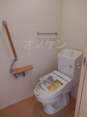 【トイレ】カーサグラス自由が丘