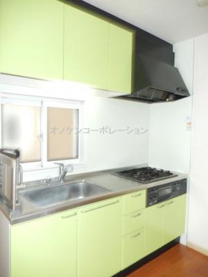 【キッチン】パレスコートB
