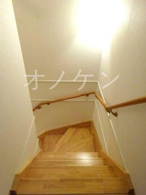 階段手摺付