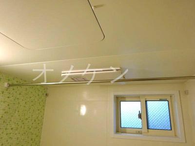 浴室乾燥・物干