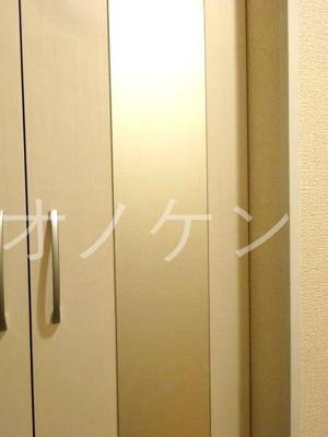 玄関姿見鏡