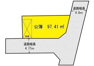 【区画図】茨木市沢良宜西3丁目