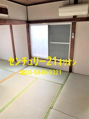 【居間・リビング】覚来アパート