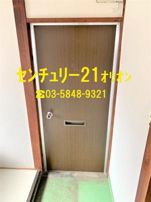 【玄関】覚来アパート