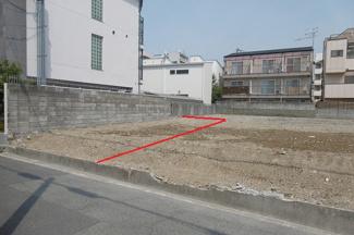 【外観】尼崎市南塚口町 売土地