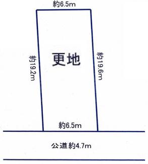 【土地図】尼崎市南塚口町 売土地