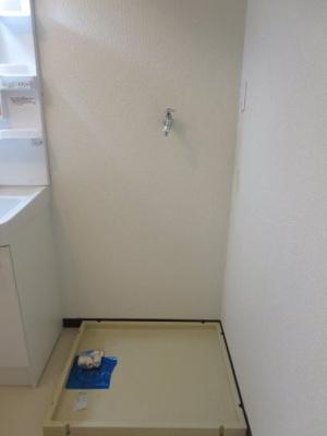 洗濯機置き場になります。
