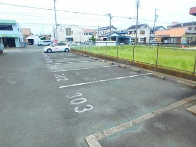 【駐車場】レジデンス曳馬Ⅰ