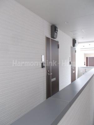 ハーモニーテラス東高円寺Ⅱの廊下