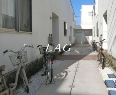自転車置き場になります。