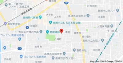 【地図】コーポ松下 (株)Roots