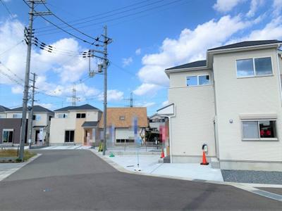 【前面道路含む現地写真】京田辺市第1大住大坪 新築戸建