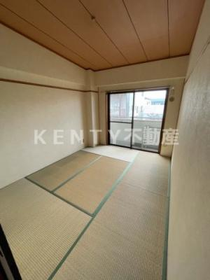 和室がひろがる居住スペース