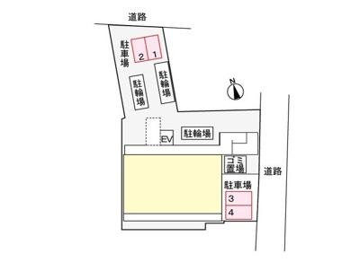 【駐車場】ケヤキ グランデ