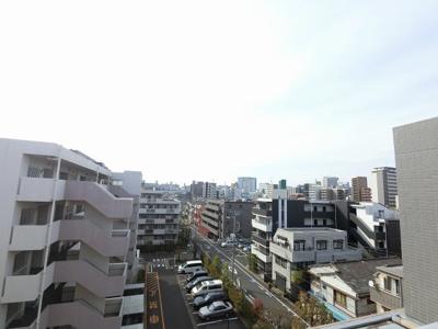 6階部分からの眺望です。