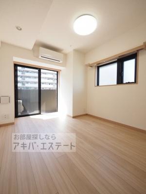 【居間・リビング】ルーブル大島弐番館