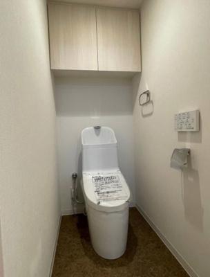 【トイレ】プレシス南砂 74.43㎡ 2012年築 リ フォーム済