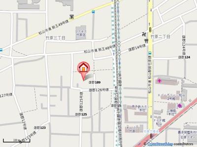 【地図】フィネス竹原