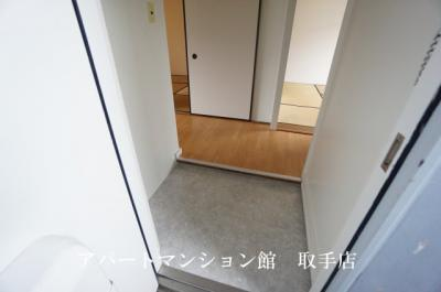 【玄関】ビレッジハウス台宿4号棟