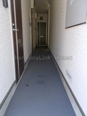 ハーモニーテラス向原の廊下☆