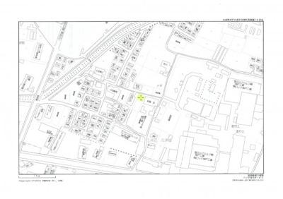【地図】高津橋売り土地