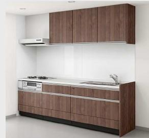 イメージ キッチンでお料理をお楽しみください 人造大理石天板なのでお手入れ簡単 システムキッチンを新規設置