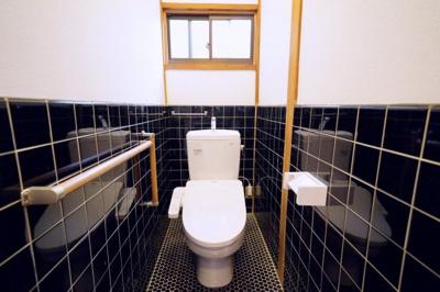 1階部分にあるトイレです。