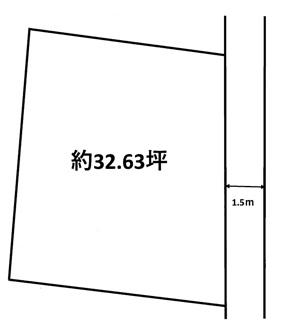 【土地図】魚住町西岡土地