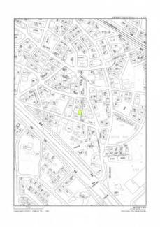 【地図】魚住町西岡土地
