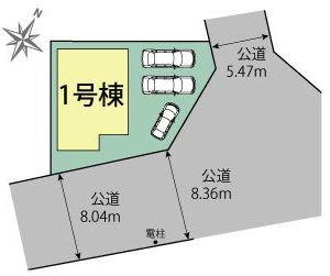 【区画図】浜北区横須賀 新築物件 TOE