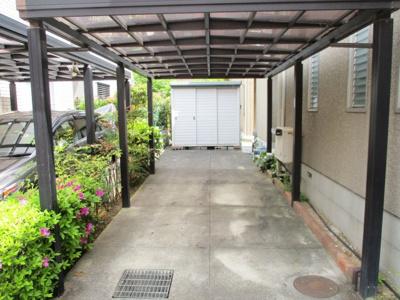 【駐車場】六甲アイランド 神戸市東灘区向洋町中5丁目 戸建
