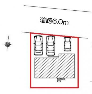 【区画図】浜松市中区相生町 新築一戸建て FF