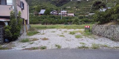【前面道路含む現地写真】有田川町糸野 土地