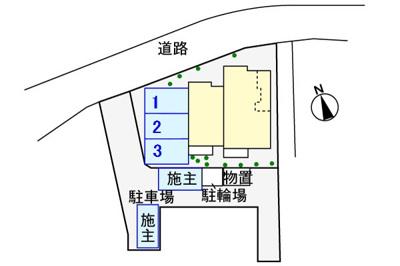 【区画図】アレーズ