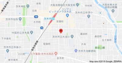 【地図】サニーコート・ロワジール