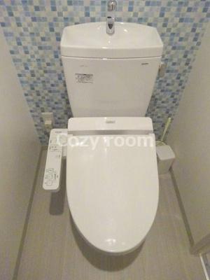 トイレもお洒落できれいです