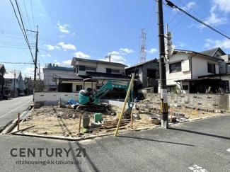 【前面道路含む現地写真】高槻市日向町