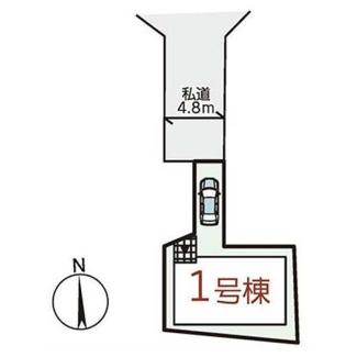 【区画図】茨木市大住町