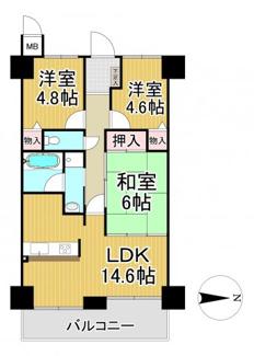 エンゼルハイムパークステージ弐番館 4階
