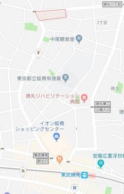【地図】ラ・フィオーレマル