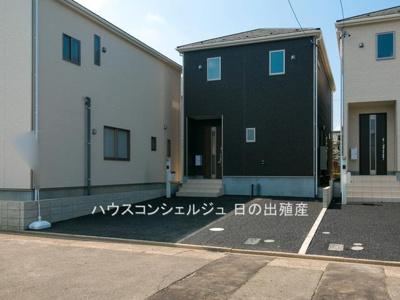 【外観】名古屋市中川区一色新町2丁目 新築一戸建て 2号棟
