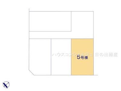 【外観】名古屋市緑区小坂2丁目513【仲介手数料無料】新築一戸建て 5号棟