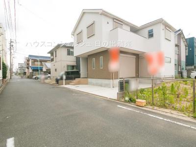 【前面道路含む現地写真】名古屋市港区高木町3丁目 新築一戸建て
