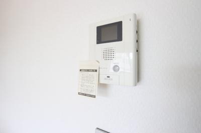 TVモニター付インターホン完備♪