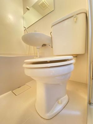 【トイレ】ガレッジハイツ2