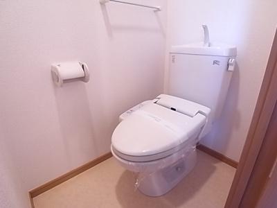 【トイレ】ドミールシモハタ
