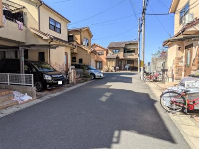 【前面道路含む現地写真】京都市伏見区羽束師菱川町