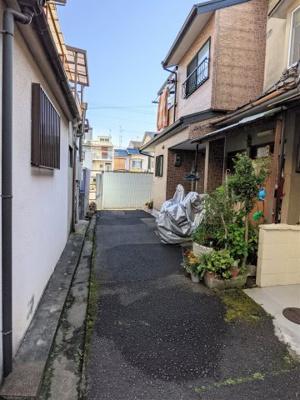【前面道路含む現地写真】京都市山科区川田菱尾田
